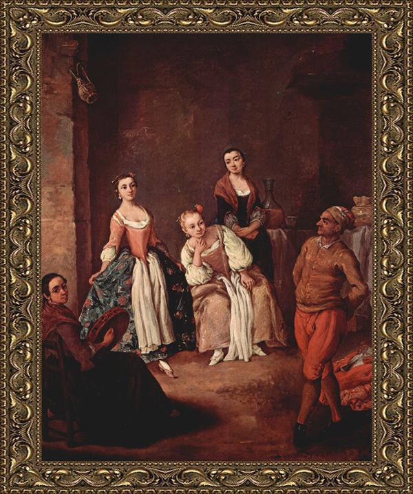 La Furlana di Pietro Longhi (1702-1785)